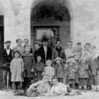 Бахрушины и сироты детского приюта, начало 20 в.